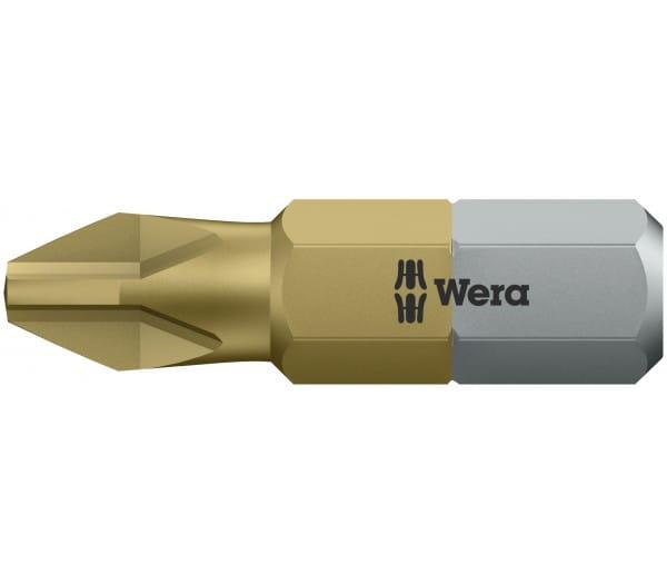 Биты WERA РН 2/25 мм 851/1 TiN 480172
