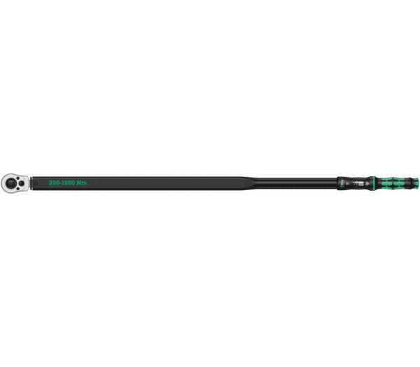 Динамометрический ключ WERA Click-Torque E 1 Push R/L с регулировкой момента затяжки 200-1000 Nm