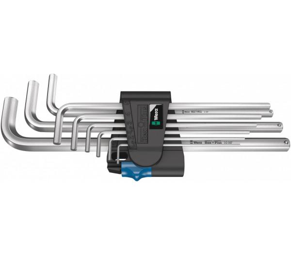 Набор Г-образных ключей WERA 950/9 L Hex-Plus HF 1, 022130