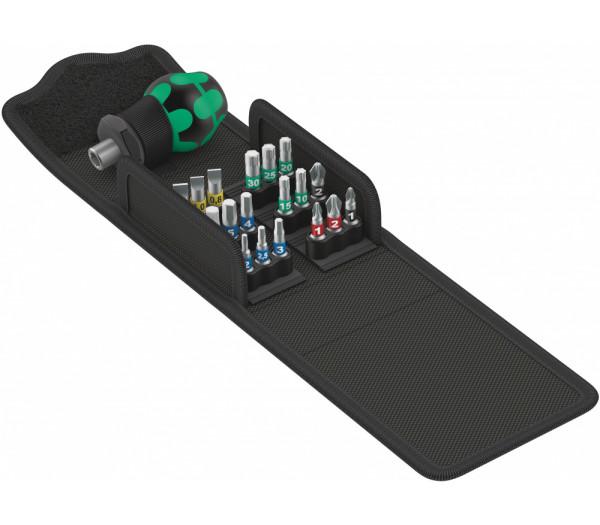 Набор WERA Kraftform Kompakt Stubby 1 отвёртка с битами 057471