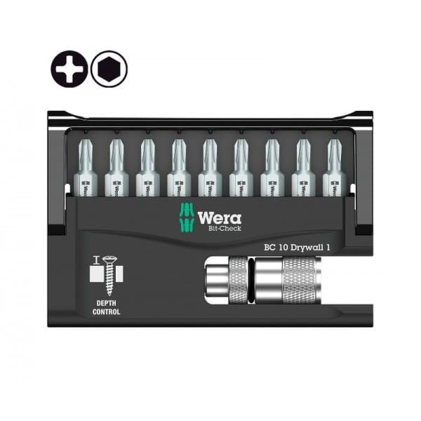 Набор WERA 10 Drywall 1 136011