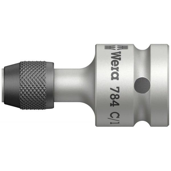 Соединительные детали c быстросменным патроном WERA 784 C/1 1/2