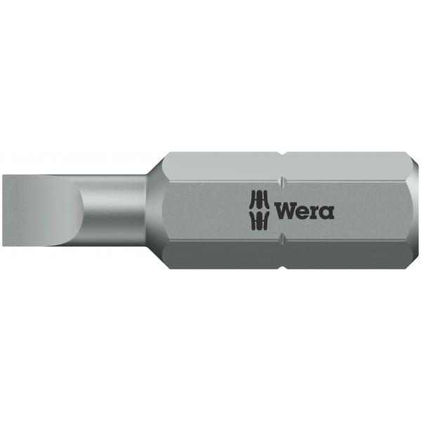Биты WERA 0,5х3х25 мм 800/1 Z 056200