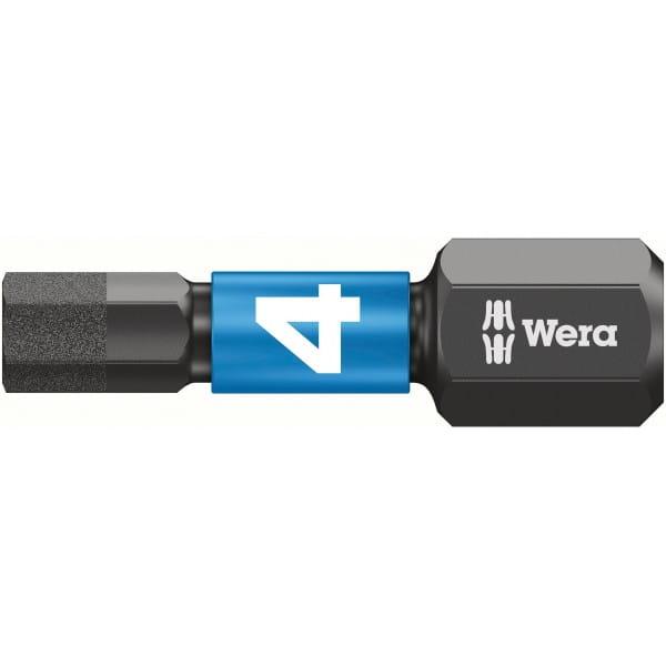 Биты WERA 4х25 мм 840/1 IMP DC Impaktor 057604