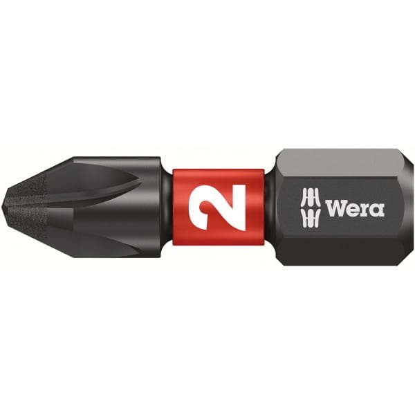 Биты WERA Phillips PH2/25 мм 851/1 IMP DC Impaktor 057616
