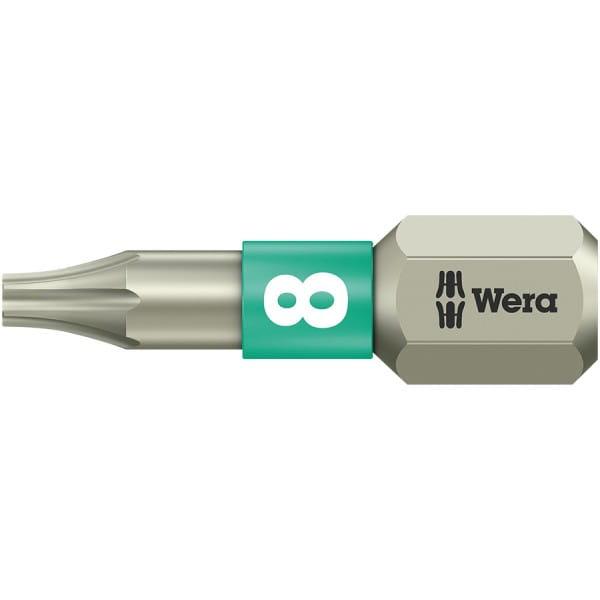 Бита WERA 3867/1 TS TORX® TX 8, нержавеющая сталь 071030