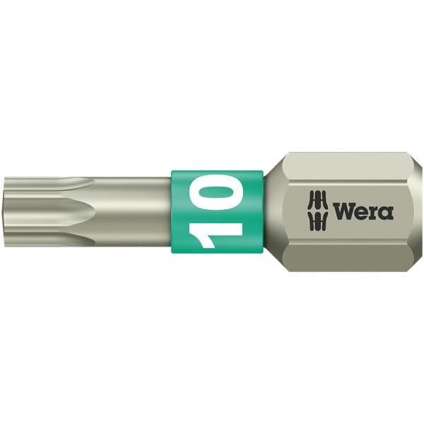 Бита WERA 3867/1 TS TORX® TX 10, нержавеющая сталь 071032