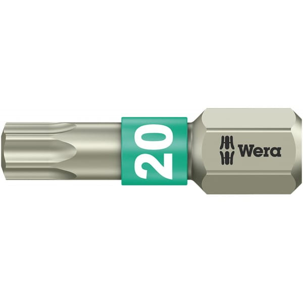 Бита WERA 3867/1 TS TORX® TX 20, нержавеющая сталь 071034