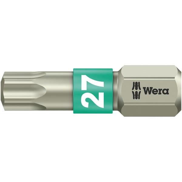Бита WERA 3867/1 TS TORX® TX 27, нержавеющая сталь 071036