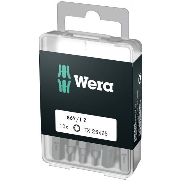 Биты WERA 867/1 Z DIY TORX® 10 шт. TX 25 072409