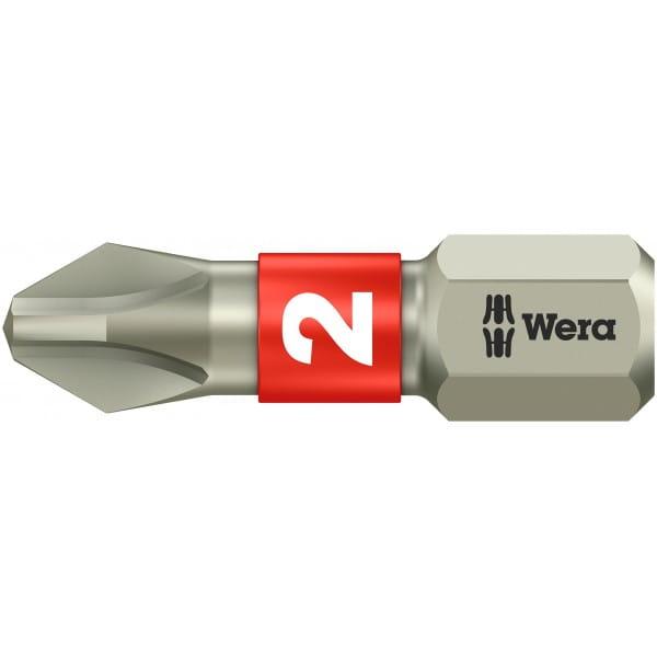 Биты WERA нержавеющая сталь 3851/1 TS SB PH 2 073611