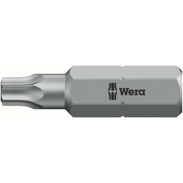 Биты WERA 27 IPR/25 мм 867/1 IPR TORX PLUS с отверстием 134704