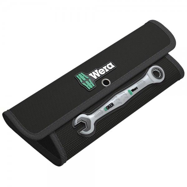Складная сумка WERA на 8 комбинированных гаечных ключа с трещоткой Joker 671381