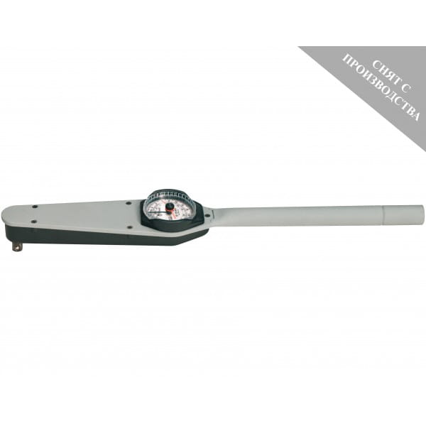 Циферблатный динамометрический ключ WERA 7114C DS 0-200 Nm с вспомогательной стрелкой серия 7100 C-F 077003