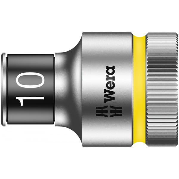 """Торцевая головка 10 мм для ключа-трещотки Zyklop c 1/2"""" с функцией фиксации WERA 8790 HMC HF 003730"""
