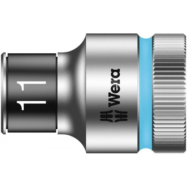 """Торцевая головка 11 мм для ключа-трещотки Zyklop c 1/2"""" с функцией фиксации WERA 8790 HMC HF 003731"""