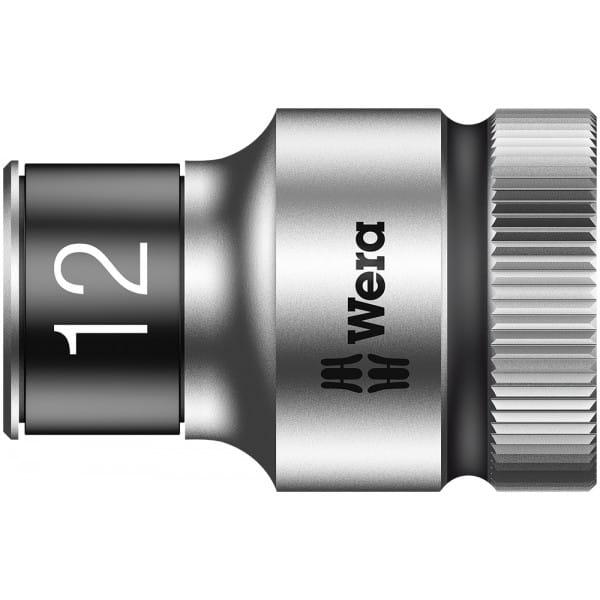 """Торцевая головка 12 мм для ключа-трещотки Zyklop c 1/2"""" с функцией фиксации WERA 8790 HMC HF 003732"""