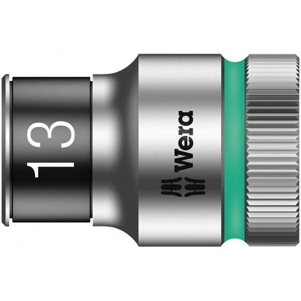 """Торцевая головка 13 мм для ключа-трещотки Zyklop c 1/2"""" с функцией фиксации WERA 8790 HMC HF 003733"""