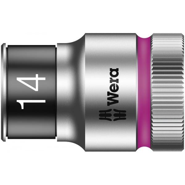 """Торцевая головка 14 мм для ключа-трещотки Zyklop c 1/2"""" с функцией фиксации WERA 8790 HMC HF 003734"""