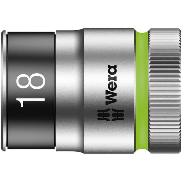 """Торцевая головка 18 мм для ключа-трещотки Zyklop c 1/2"""" с функцией фиксации WERA 8790 HMC HF 003738"""