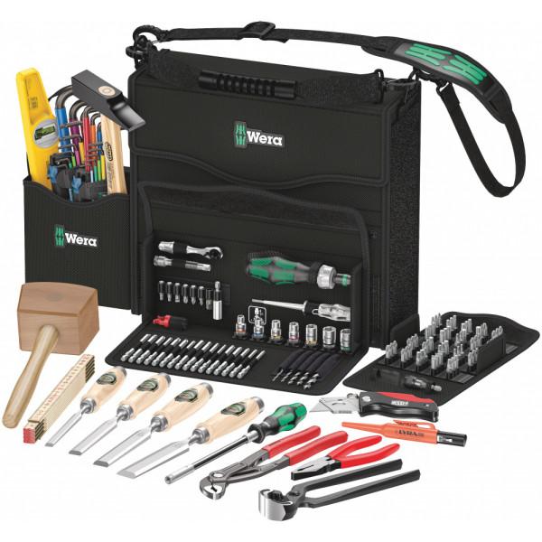 Набор инструментов для работы по дереву WERA 2go H 1, 134011