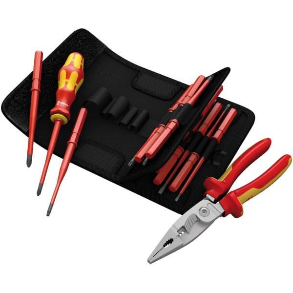 Набор WERA Kraftform Kompakt Slim Line VDE + Set Knipex VDE 135935