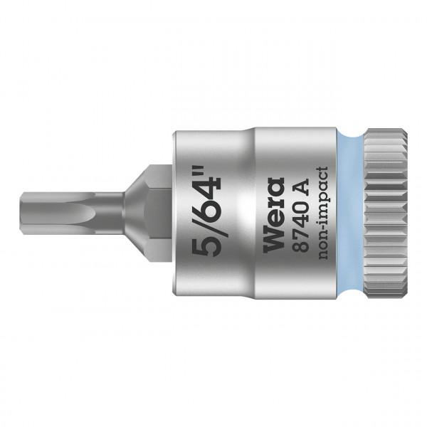 """Отверточная головка Zyklop 8740 A с приводом 1/4"""" WERA 003380"""