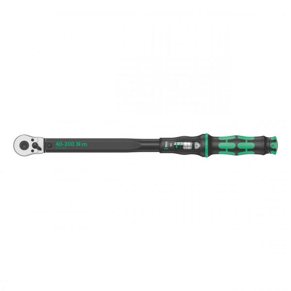 Динамометрический ключ WERA Click-Torque C 3 с трещоткой и реверсом WE-075622