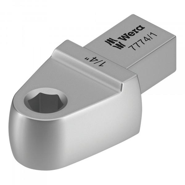 """Насадка-адаптер WERA 7774/1 для битов с хвостовиком 1/4"""" WE-078640"""