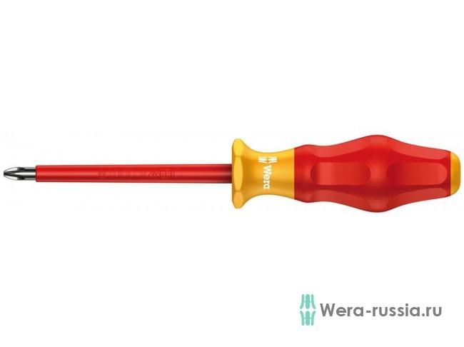 Kraftform Comfort 1165 i PZ VDE, PZ 0 / 80 мм, 031610 WE-031610 в фирменном магазине Wera