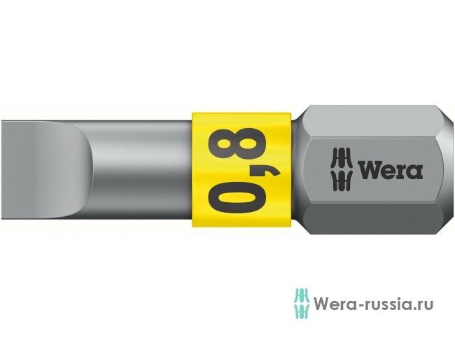 0,8х5,5х25 мм 800/1 BTZ 056064 WE-056064 в фирменном магазине Wera