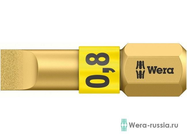 0,8 x 5,5 x 25 мм 800/1 BDC 056172 WE-056172 в фирменном магазине Wera