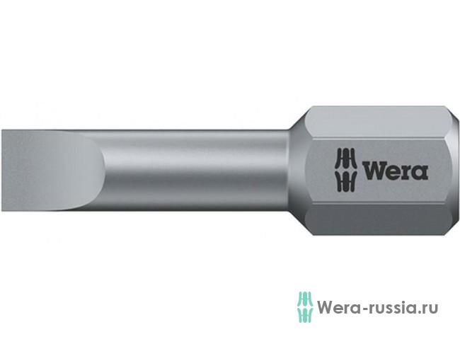 0,6х4,5х25 мм 800/1 TZ 056210 WE-056210 в фирменном магазине Wera