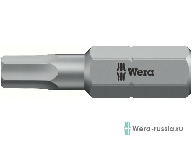 2х25 мм 840/1 Z Hex-Plus BO 056341 WE-056341 в фирменном магазине Wera