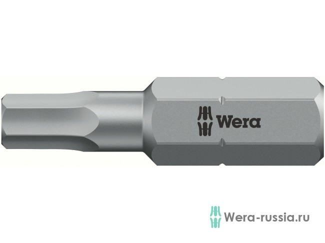 Биты WERA 4х25 мм 840/1 Z Hex-Plus BO 056344