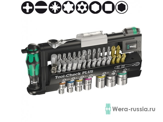 Набор WERA Tool-Check PLUS 056490