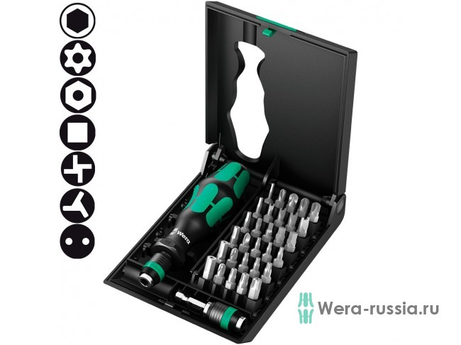 Набор WERA Kraftform Kompakt 71 Security 057111
