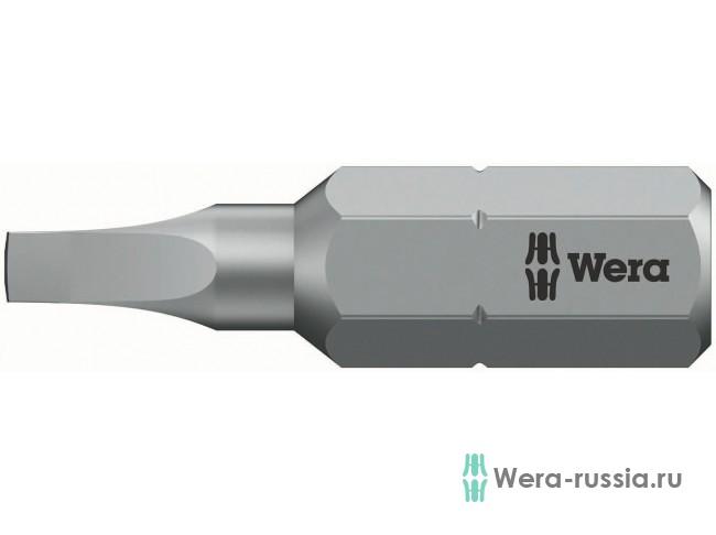 #0х25 мм 868/1 Z для винтов с внутренним квадратом 066400 WE-066400 в фирменном магазине Wera