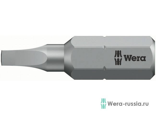 #2х25 мм 868/1 Z для винтов с внутренним квадратом 066410 WE-066410 в фирменном магазине Wera