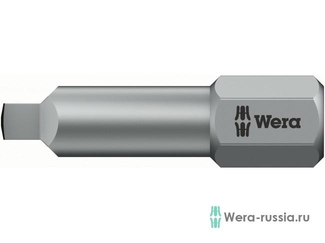 #1х25 мм 868/1 BTZ с внутренним квадратом 066445 WE-066445 в фирменном магазине Wera
