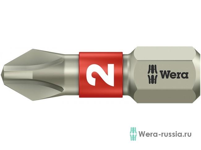 3851/1 PH2 нержавеющая сталь 071011 WE-071011 в фирменном магазине Wera