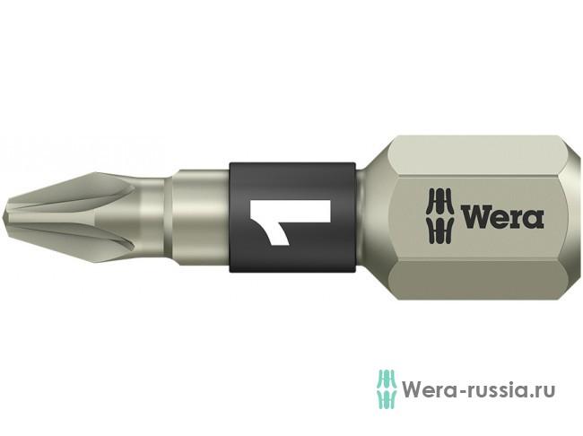 3855/1 TS Pozidriv PZ 1, нержавеющая сталь 071020 WE-071020 в фирменном магазине Wera