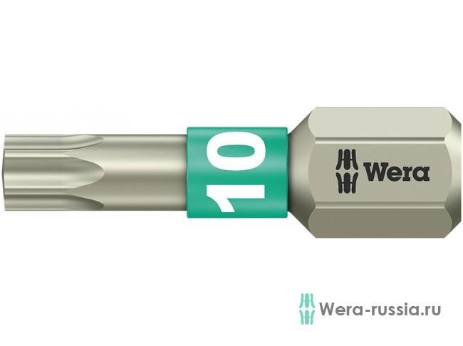 3867/1 TS TORX® TX 10, нержавеющая сталь 071032 WE-071032 в фирменном магазине Wera