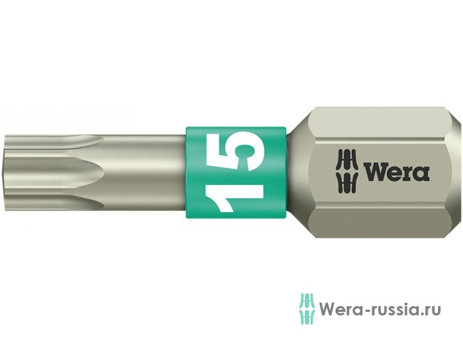 3867/1 TS TORX® TX 15, нержавеющая сталь 071033 WE-071033 в фирменном магазине Wera