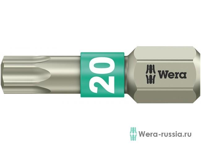 3867/1 TS TORX® TX 20, нержавеющая сталь 071034 WE-071034 в фирменном магазине Wera