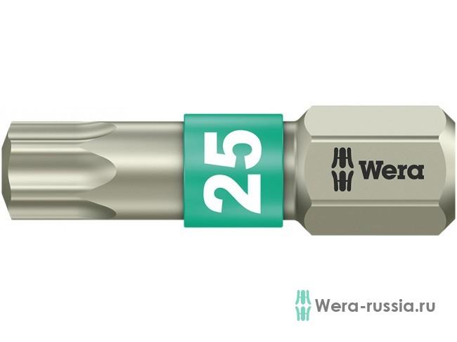 3867/1 TS TORX® TX 25, нержавеющая сталь 071035 WE-071035 в фирменном магазине Wera
