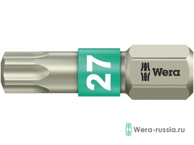 3867/1 TS TORX® TX 27, нержавеющая сталь 071036 WE-071036 в фирменном магазине Wera