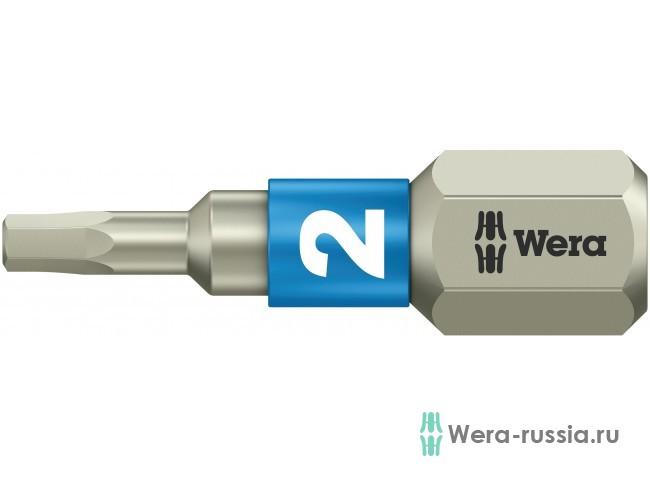 3840/1 TS шестигранник 2/25 мм, нержавеющая сталь 071071 WE-071071 в фирменном магазине Wera