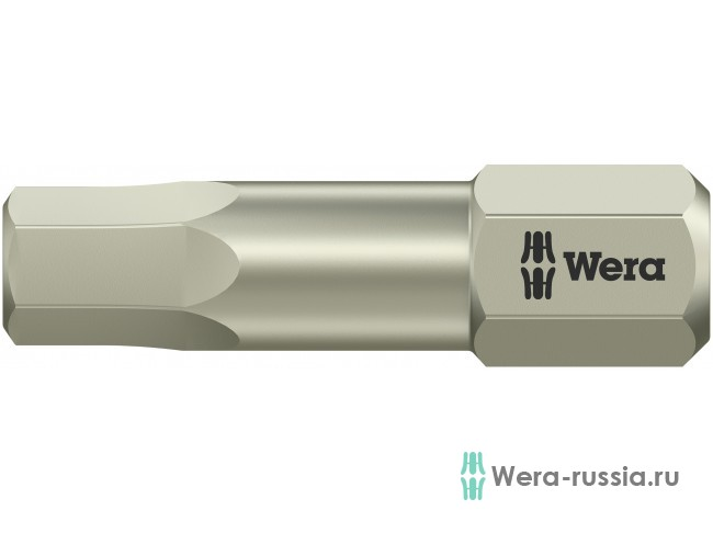 3840/1 TS шестигранник 5,5/25 мм, нержавеющая сталь 071077 WE-071077 в фирменном магазине Wera