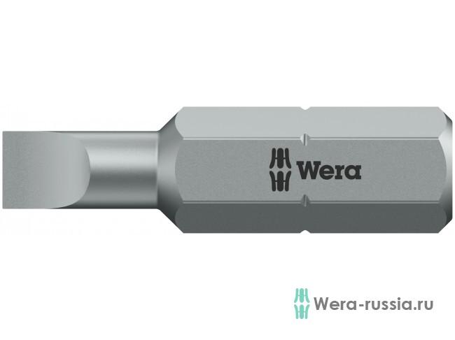 0,6х4,5х25 мм 800/1 Z 072055 WE-072055 в фирменном магазине Wera
